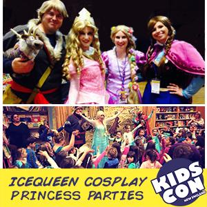Icequeen Cosplay Princess Parties