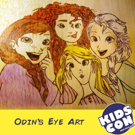 Odin's Eye Art