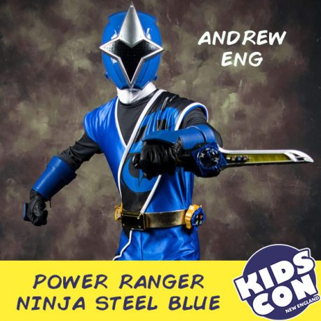 Power Ranger Ninja Steel Blue – Andrew Eng